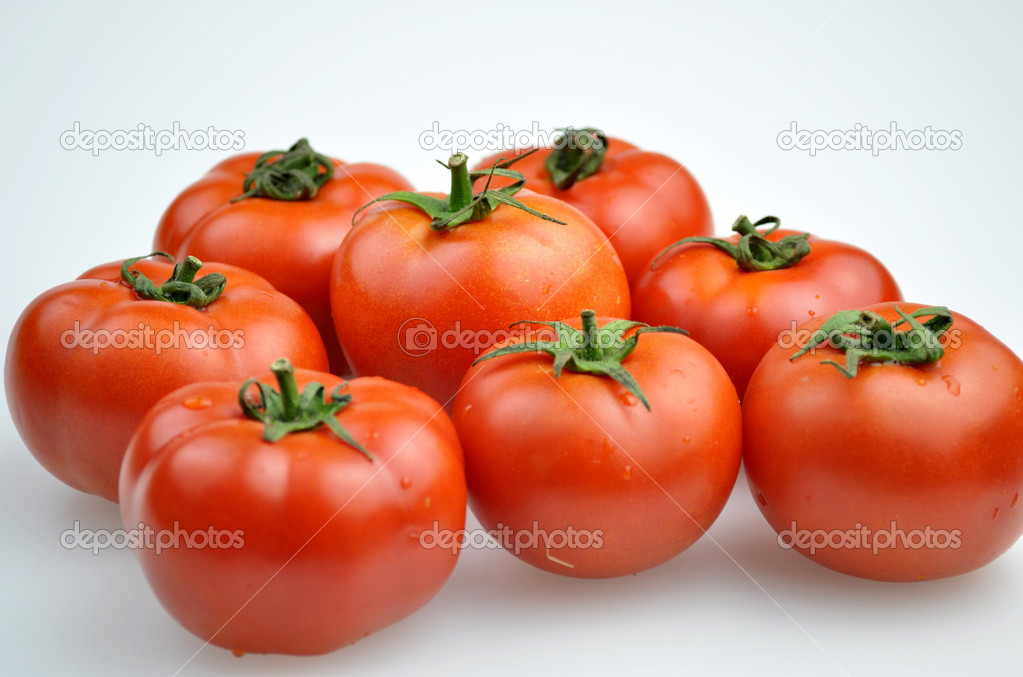 Fresh tomatoes   Foto de Stock   #6869965