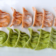 Stock Photo: Raw vegetable dumplings