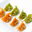 Stock Photo: Vegetable dumplings