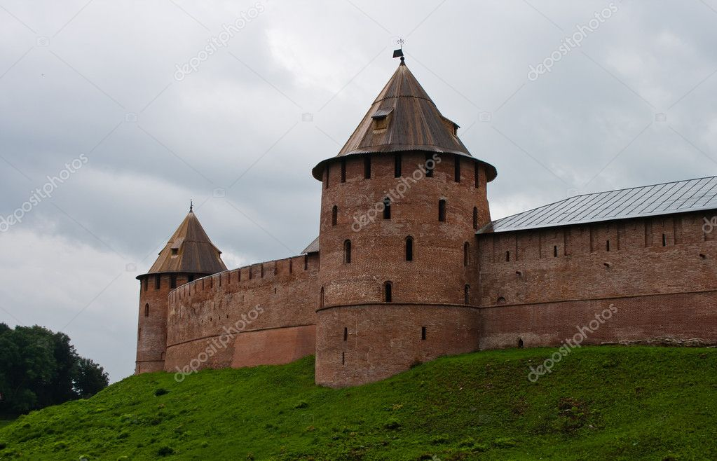 Historical novgorod kremlin  Stock Photo #6843207