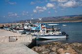 Barcos de trabalho — Fotografia Stock