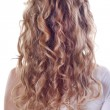 Royalty-Free Stock Photo: Blond curl hair