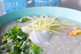 Thai porridge rice gruel — Stock Photo