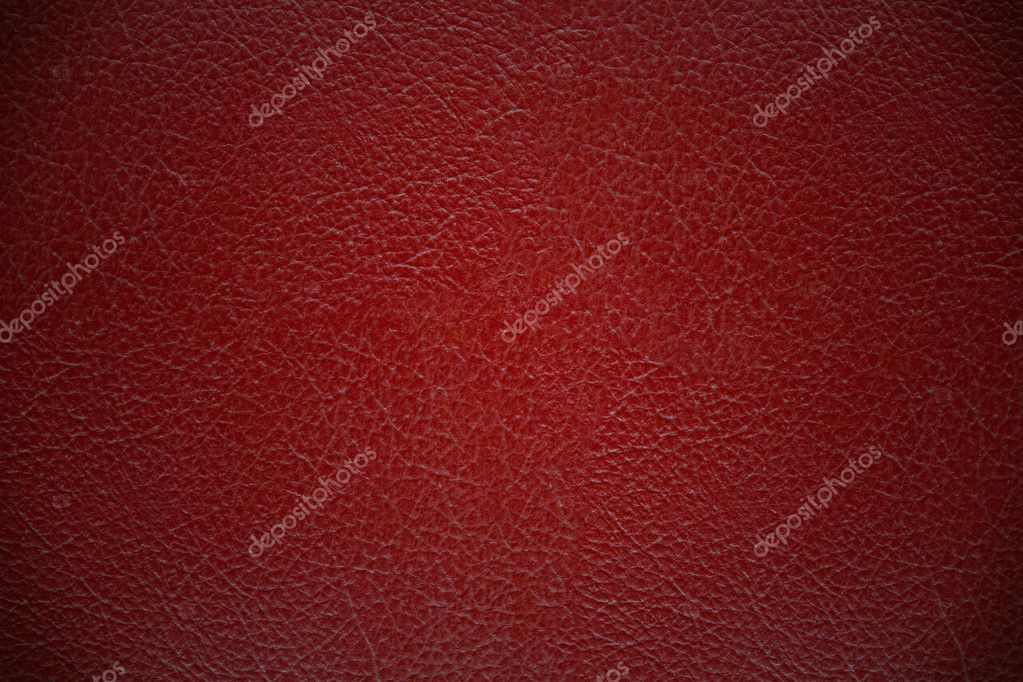 Red leather cover texture background — Stock Photo #7108899