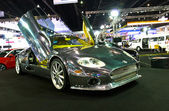 Spyker C8 Double 12 On Display — Foto Stock