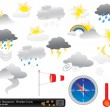Royalty-Free Stock Vector Image: Vector weather icons pack