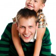 Father and son — Stock Photo #6817632