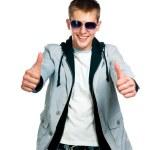 Fashion man in sunglasses — Stock Photo #6817733