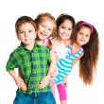 malé děti — Stock fotografie