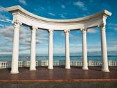 Oude griekse kolommen — Stockfoto