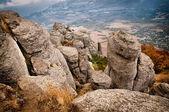 Bella vista delle rocce — Foto Stock