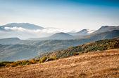 Belle vue sur montagnes — Photo