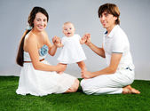 Młode rodziny — Zdjęcie stockowe