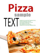 Pieces of pizza — Stock Photo