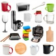 Set of kitchen tools — Stock Photo #7570011