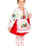 Girl dressed in Ukrainian — Stock Photo #7659153