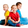 Stock Photo: Small kids