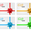 Gift cards — Stock Photo #7758217