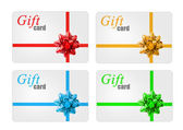 Gift cards — Stock fotografie