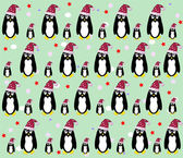 Penguin background vector — Stock Vector