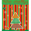 Christmas card. Vector — Stock Vector