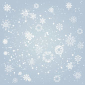 Falling snowflakes — Stock Vector