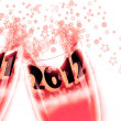 New Year, 2012, celebrated — Stock Photo