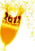 New Year, 2012, — Stock Photo