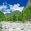 Samaria Gorge. Greece, Crete, White Mountains — Stock Photo