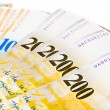 Swiss currency francs — Stock Photo