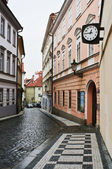 Old Streets of Prague — Stock Photo