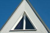Dreieckfenster — Stock Photo