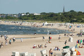 Baltic beach scene — Foto Stock