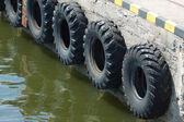 Tire fenders — Stock Photo