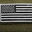 Stock Photo: Americflag patch