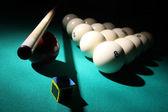 Billiard equipment. — Stock Photo