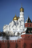 Kremlin series. Cathedral of the Archangel Michael. — Stock Photo