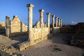 Temple columns at Paphos, Cyprus. — Stock Photo