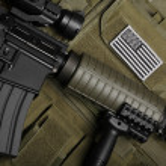 Military concept. Still life. — Stock Photo #7404054