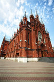Roman-Catholic Cathedral in Moscow, Russia. Vertical composition — Stock Photo