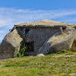 Stock Photo: Stone house in top of moutain