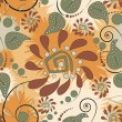 nahtlose floral background — Stockvektor  #6823234