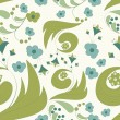 Stockvector : Seamless abstract floral background
