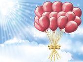 Balões — Vetorial Stock