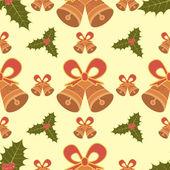 Seamless pattern di Natale — Vettoriale Stock