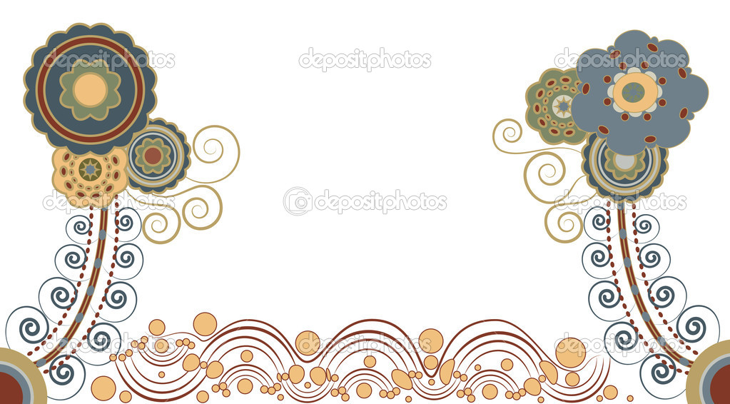 Floral background   Stock Vector #6822551