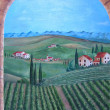 Tuscany painting. ART. — Stock Photo #7601355