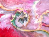 Abstracto cósmico rosa suave. acuarela. — Foto de Stock