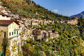 Saorge. Village, France. Old village in the mountains. — Stock Photo