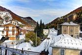 Limone piemonte, Włochy. Kurort narciarski. początek nov.2011. — Zdjęcie stockowe